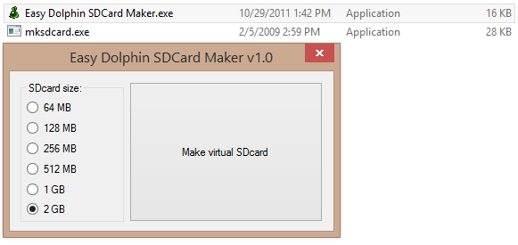 SD Card Maker