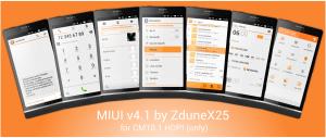 MIUI v4.1 - ZduneX25
