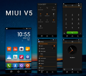 MIUI v5 Dark - JasonEvil